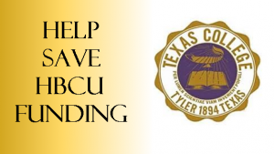 Help Us Protect HBCU Funding
