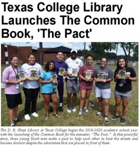 TC Library recognized in HBCU Advocate